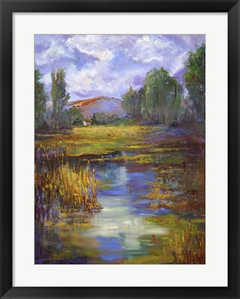Framed Still Waters Print