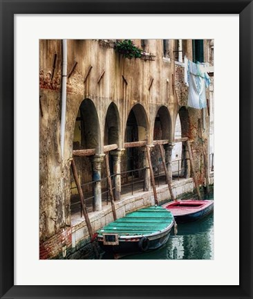 Framed Hanging Laundry Print