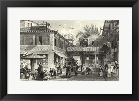 Framed Scenes in China VIII Print