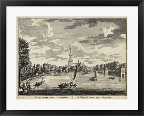 Framed Views of Amsterdam VII Print