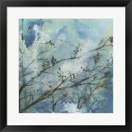 Framed Moonlit Branches I Print
