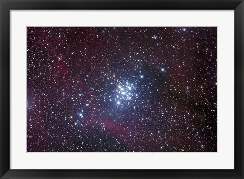 Framed Open Cluster in Carina Print