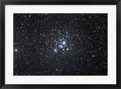 Framed Jewel Box, Open Cluster in Crux Print