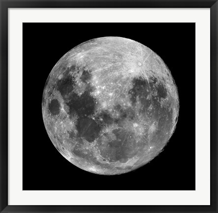 Framed Full Moon Print