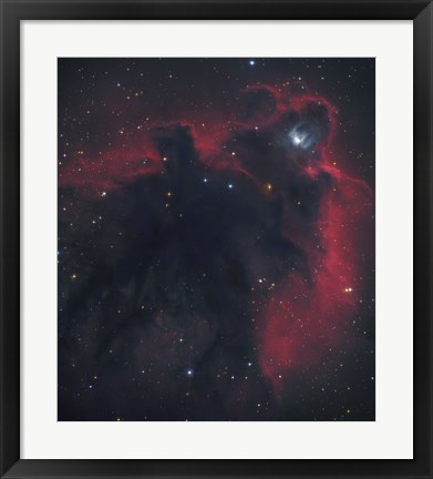 Framed Cometary Globule in Orion Print