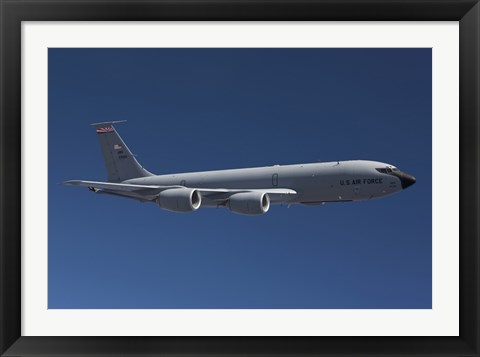 Framed KC-135R over Arizona Print
