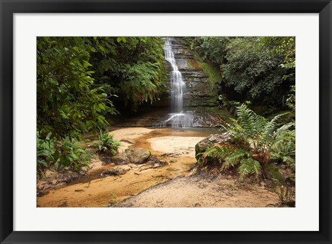 Framed Pool of Siloam, Waterfall, New South Wales, Australia Print