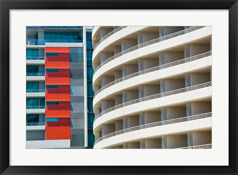 Framed Australia, Saville and Rydges Hotels, Modern building Print