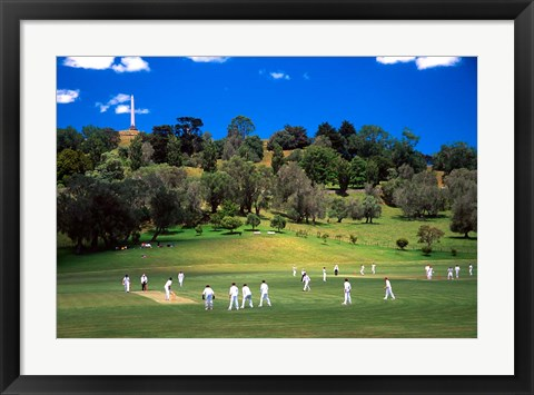 Framed Cornwall Cricket Club, Auckland, New Zealand Print