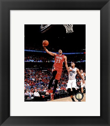 Framed Anthony Davis 2014-15 Action Print
