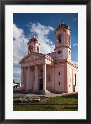 Framed Cuba, Catedral de San Rosendo, Cathedral Print