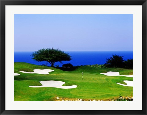 Framed White Witch Golf Course, Montego Bay, Jamaica Print