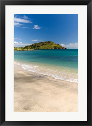 Framed Cockleshell Bay, St Kitts, Caribbean Print