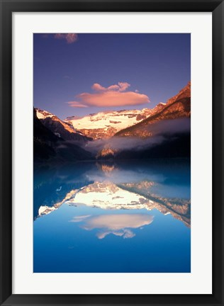 Framed Lake Louise Morning, Canada Print