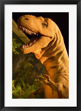 Framed Royal Tyrrell Museum of Palaeontology, Drumheller, Alberta, Canada Print