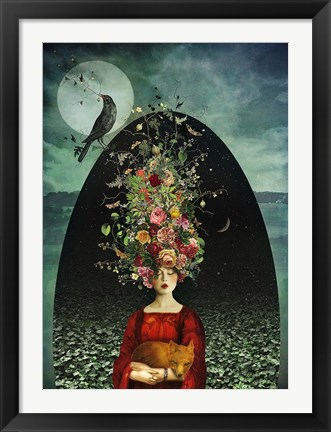 Framed Ballad of the Two Moons Print