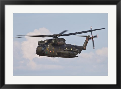 Framed CH-53GS of the German Army Print