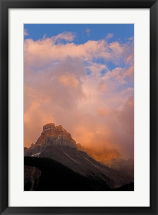Framed British Columbia, Yoho NP, Cathedral Mountain Print