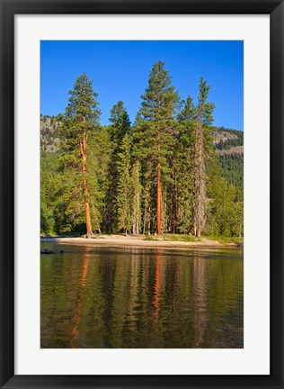 Framed Kettle River Provincial Park, British Columbia Print