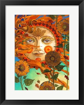 Framed Autumn Sun Print