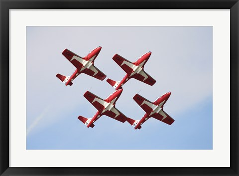 Framed Snowbirds 43 Squadron of the Royal Canadian Air Force Print