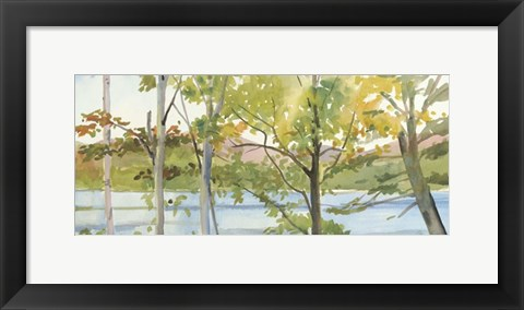 Framed Lake Study (right) Print