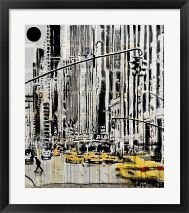 Framed Somewhere in New York City Print
