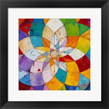 Framed Kaleidoscopic Print