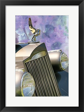 Framed 1930's Packard Grill Print