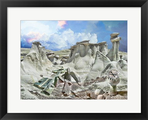 Framed Stone Canyon Print