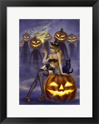 Framed I Put a Spell On You Print