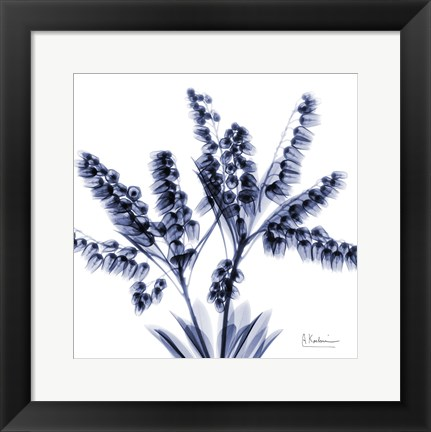 Framed Lily of the Valley Bush Print