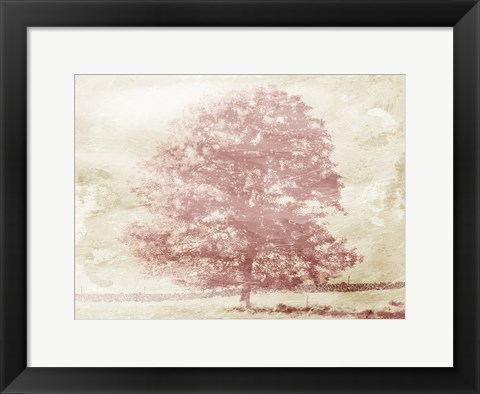 Framed Marsala Tree Print