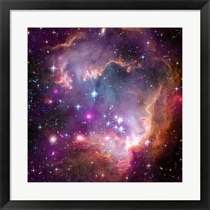 "Framed Taken Under the ""Wing"" of the Small Magellanic Cloud Print"