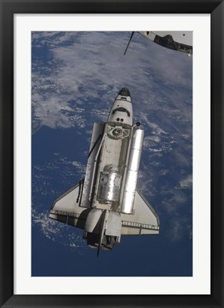 Framed Space Shuttle Endeavour Print