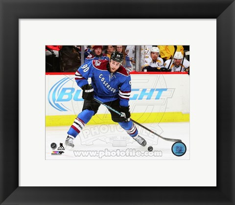 Framed Ryan O'Reilly 2014-15 Action Print