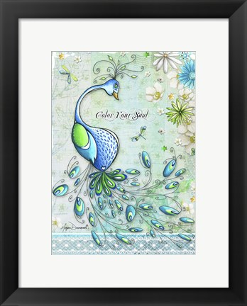 Framed Color Your Soul Print