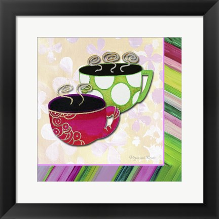 Framed Tea Party I Print