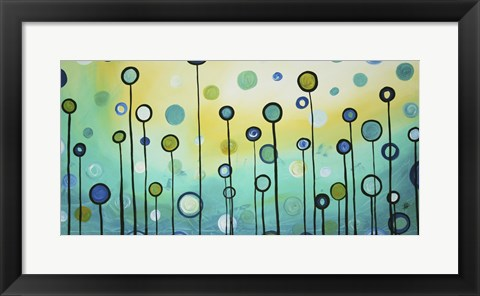 Framed Lollipop Field Print