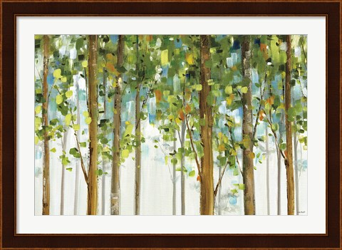 Framed Forest Study I Crop Print
