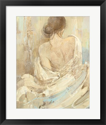 Framed Abstract Figure Study I Print