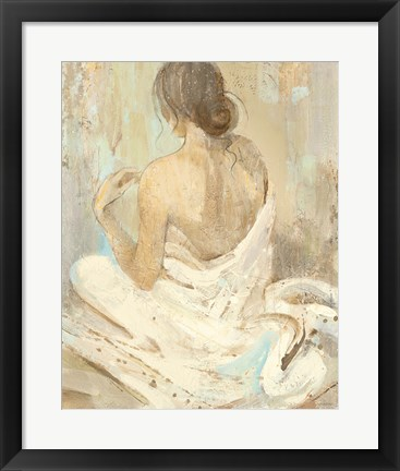 Framed Abstract Figure Study II Print