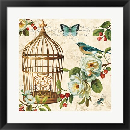 Framed Free as a Bird II Print