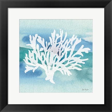 Framed Sea Life Coral II Print