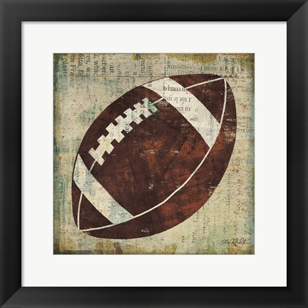 Framed Ball III Print