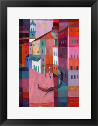 Framed Canals of Venice II Print