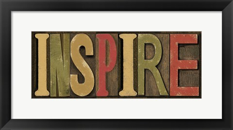 Framed Printers Block Sentiment Spice II - Inspire Print