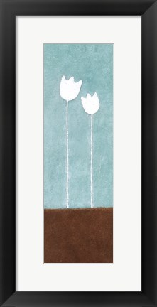 Framed Tall Tulips at Noon A Print