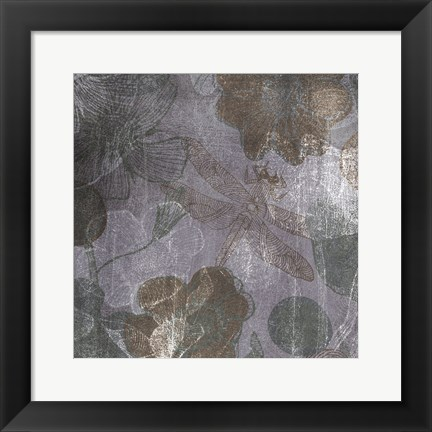 Framed Luxurious Intuition A Print