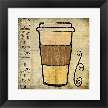 Framed Coffee 2 Print